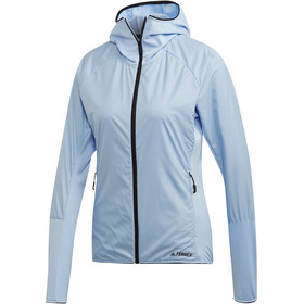 adidas TERREX Skyclimb Giacca in pile Donna, glossy blue